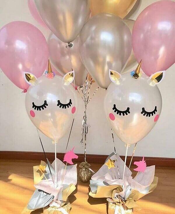 Balões unicorbio