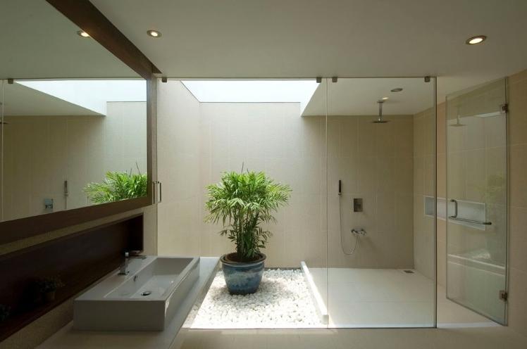 Iluminação zenital banheiro