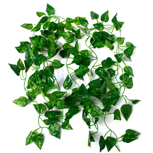 Plantas rasteiras artificiais
