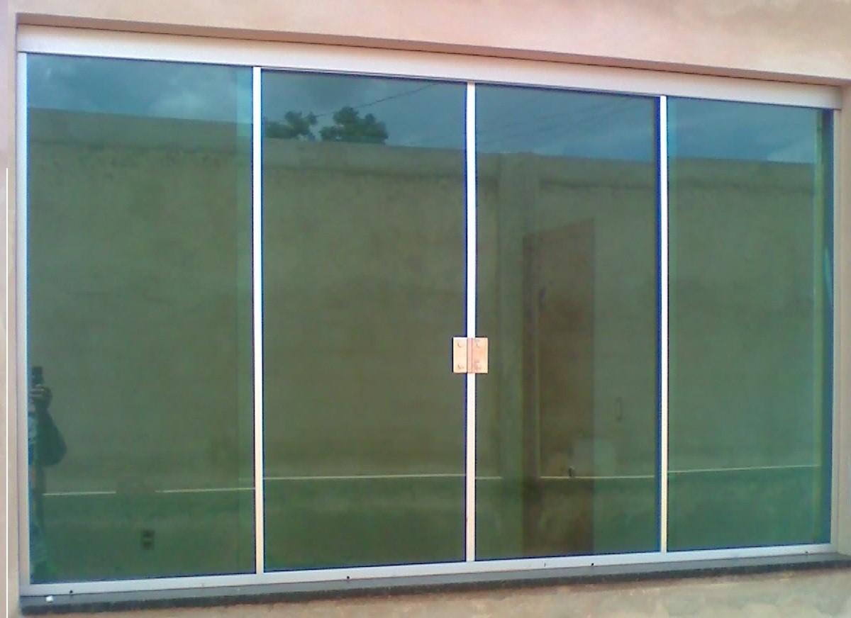 Vidro temperado 8mm na janela