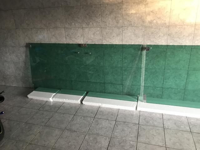 chapas de Vidro temperado verde