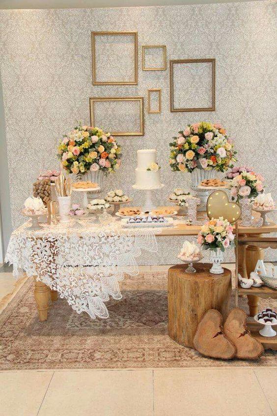 d575be34af7df9aa542c11f0a498adf9 Decoração de chá de panela simples e bonito