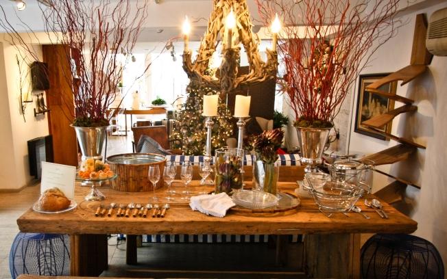 decoração rustica de natal
