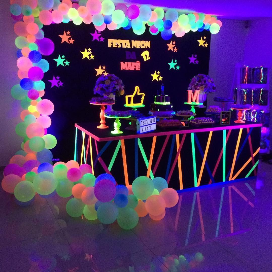 estilo neon