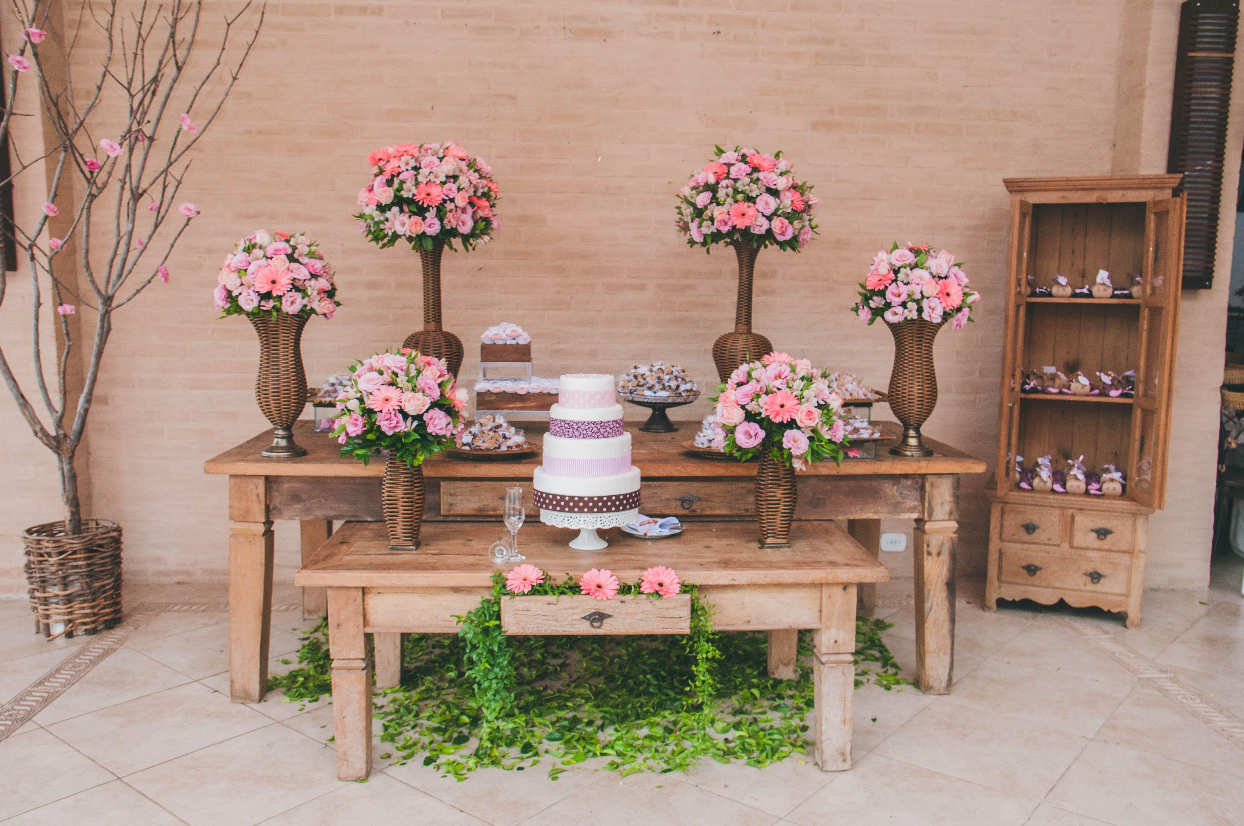 paienl rustico para casamento