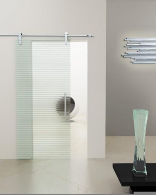 porta de vidro de correr para quarto