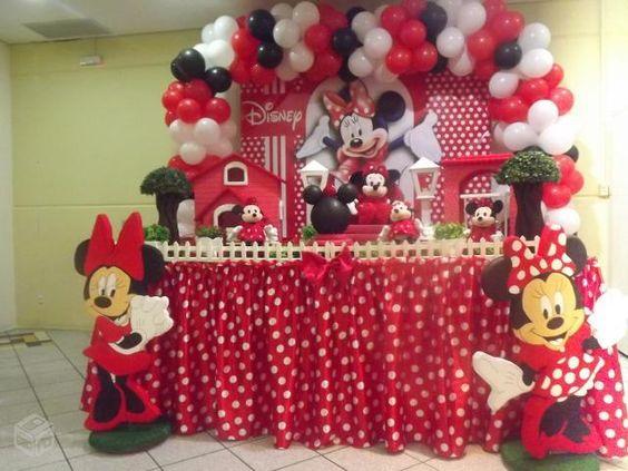 festa da minnie vermelha 2