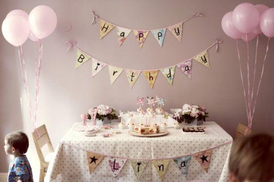decoração de aniversário simples 2