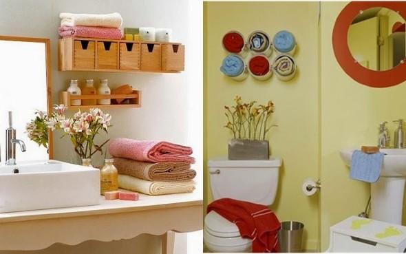 Enfeites para banheiro artesanal