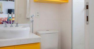 Enfeites para banheiro pequeno