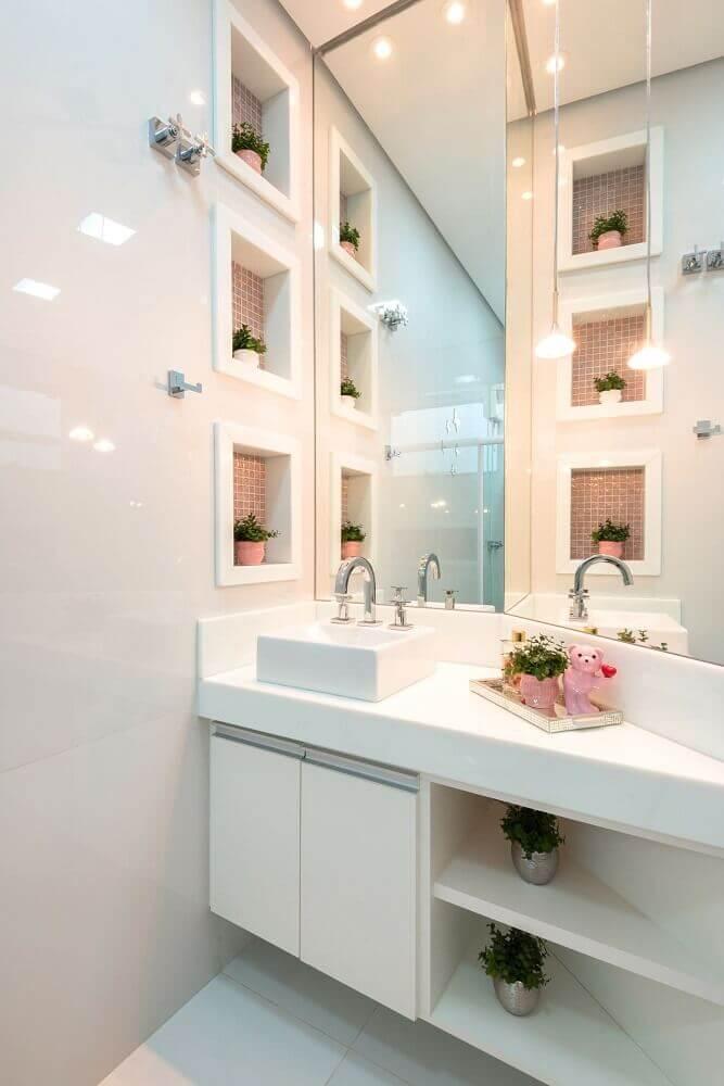 Enfeites para nicho de banheiro