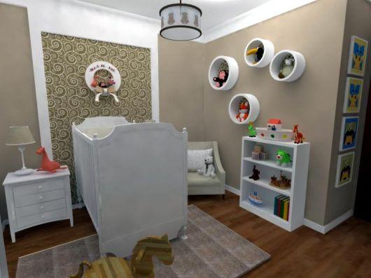 Enfeites para nichos quarto de bebe