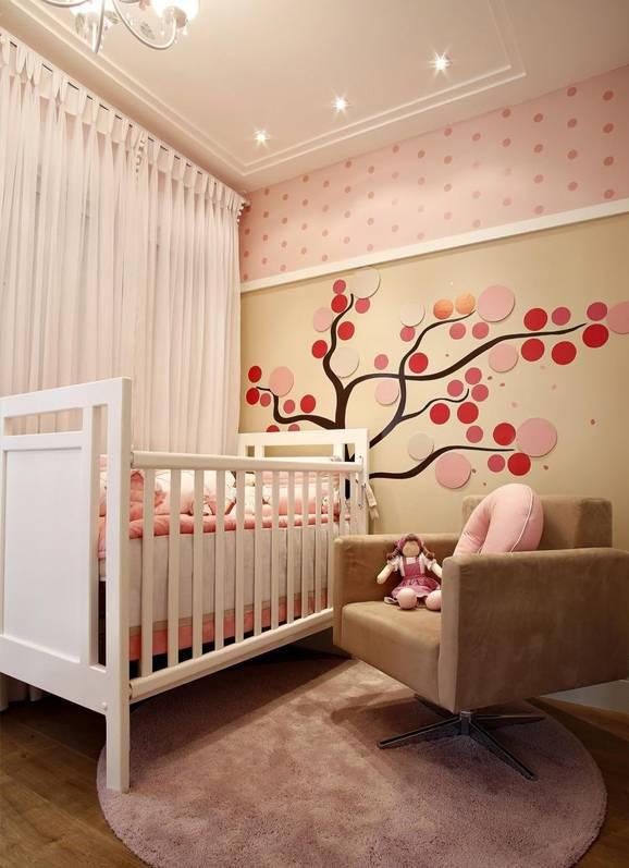 Enfeites para quarto de bebe feminino