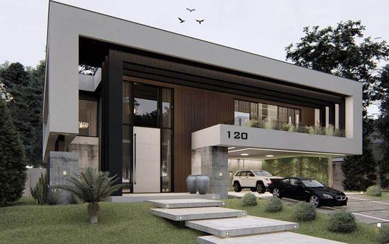 Cores de casas 34 ideias que v o fazer voc se apaixonar for Cores modernas para fachadas de casas 2013