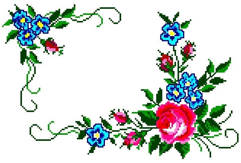 flor no canto poto cruz
