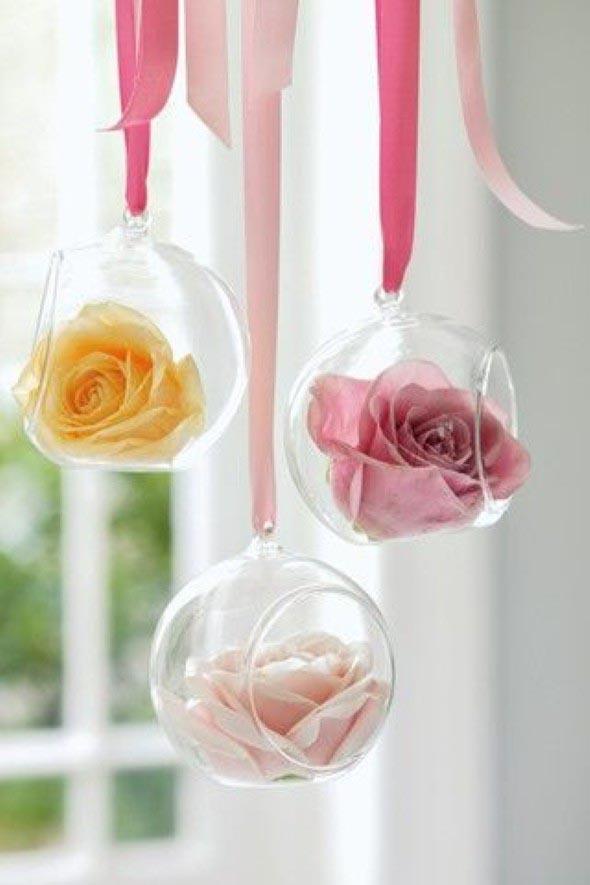 flores penduradas
