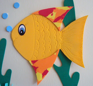 peixinhos na parede