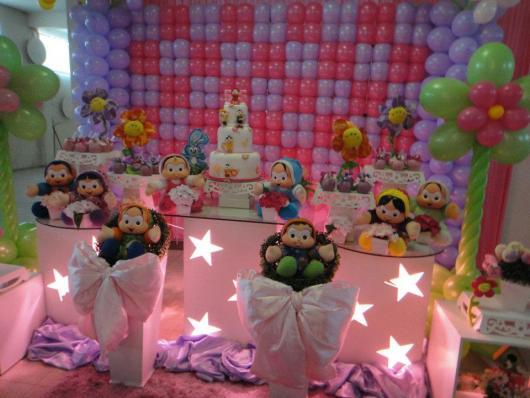 festa de naiversario 1 ano turam ada monica