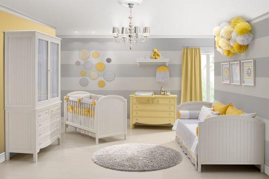 quarto de criança com cinza
