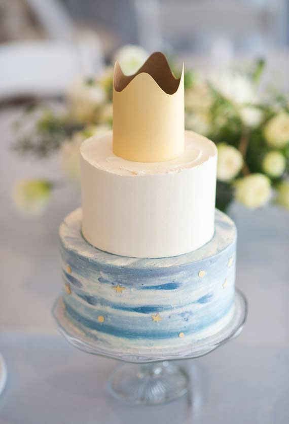 bolo no estilo pequeno principe