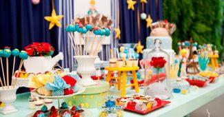 mesa de festa pequeno prícniep