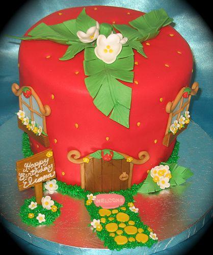 bolo da moranguinho lindo