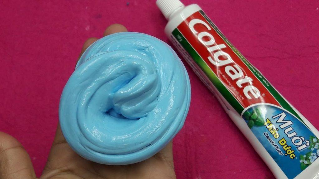 Como fazer slime com pasta de dente