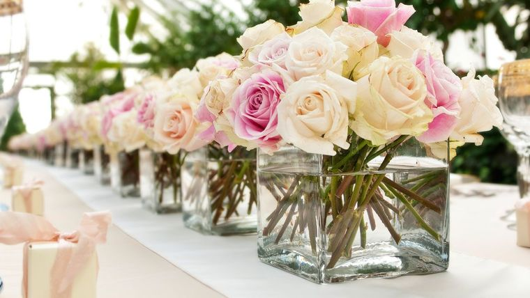 Misturada com outras rosas