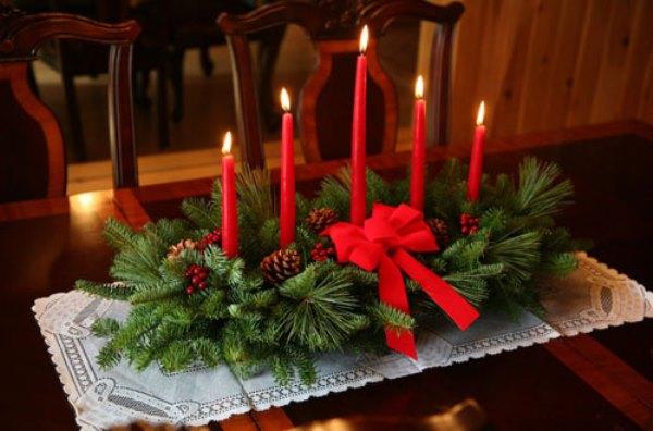 natal com velas