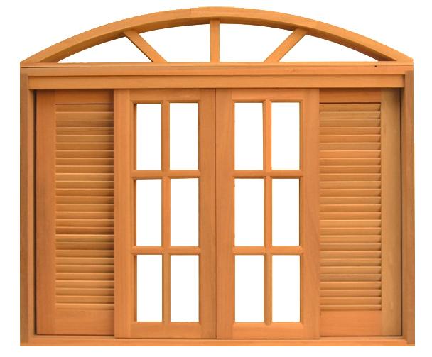 Janela sofisticada confecionada em madeira para seu quarto