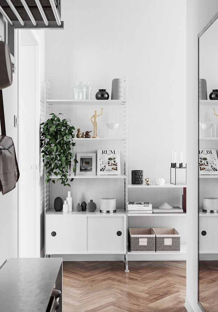Branco a cor mais neutra na parede