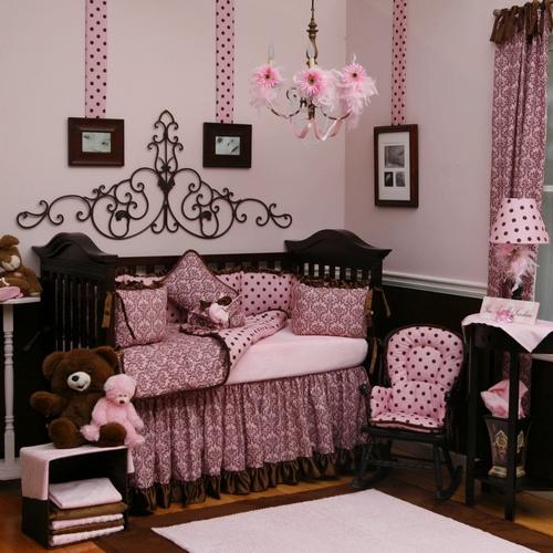 Decorando rosa e marrom em uma unica decoração