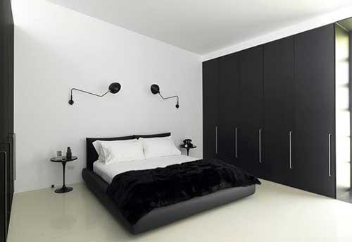 Sofisticação na decoração preto e branco