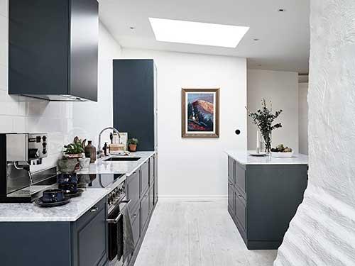 Azul na modalidade petroleo para sua cozinha