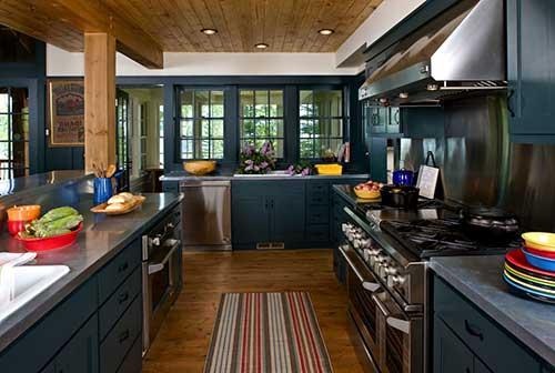 Azul petroleo para colocar na sua cozinha