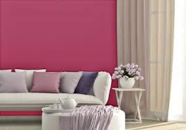 Fucsia na parede da sua sala de estar para decorar