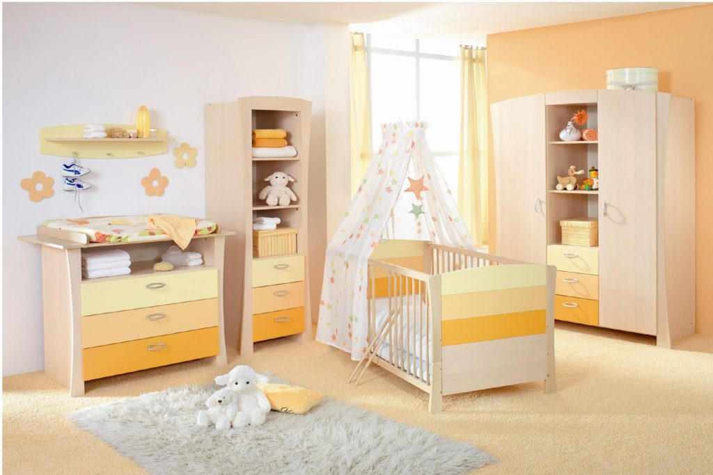 Quarto amarelo na sua decoração infantil