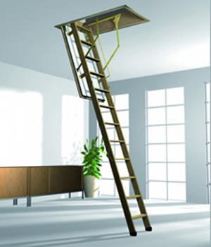 escada retratil para subir no sotão