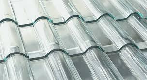 molde frances nas telhas de vidro