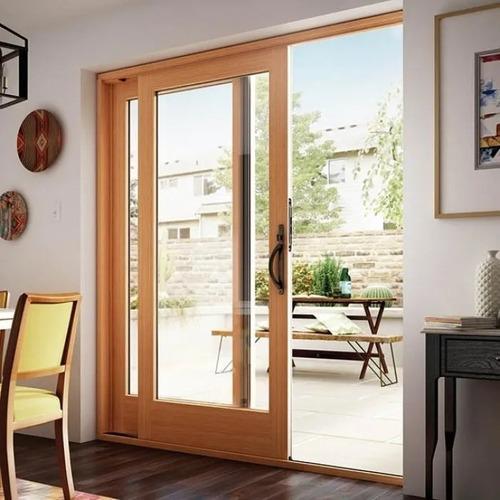 porta balcão de vidro para sala