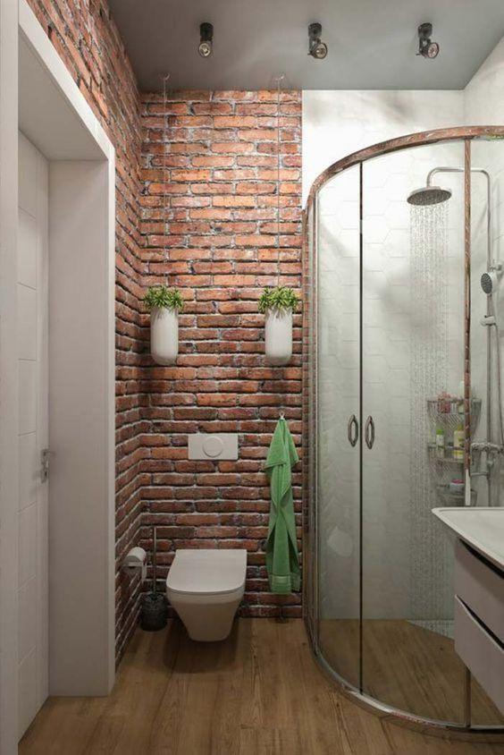porta de correr de vidro para banheiro pequeno