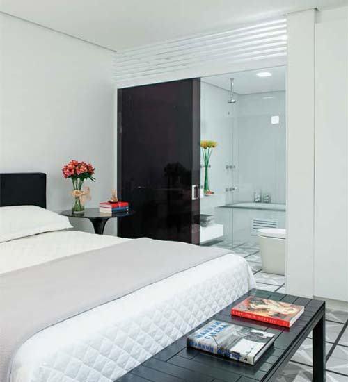 porta de vidro fime para quarto para banheiro