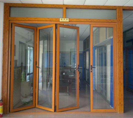 porta sanfonada de vidro para cozinha