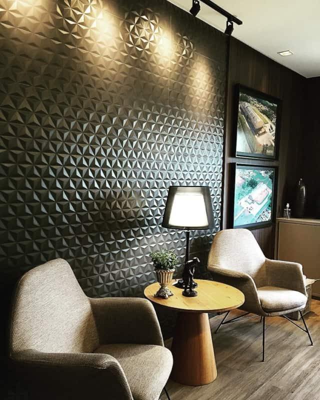 cerâmica com forma para usar no quarto masculino