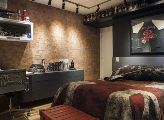painel de cerâmica para quarto