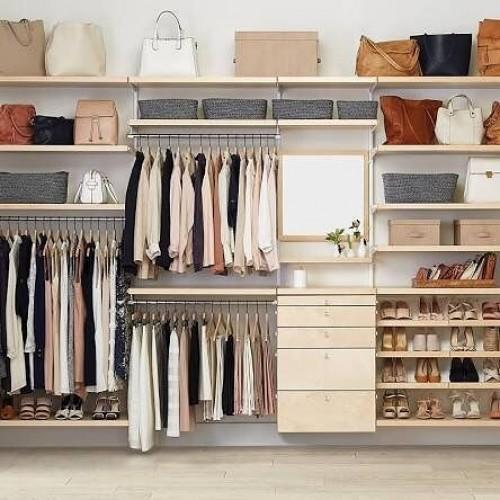 Conceito aberto para um closet