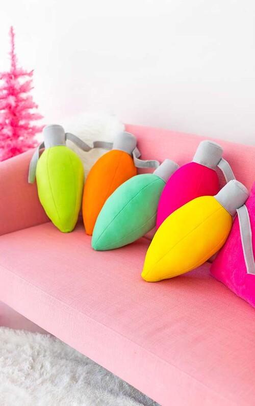 almofadas personalizadas e coloridas