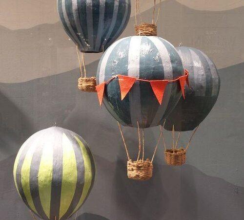 balões decorativos para o interior da casa