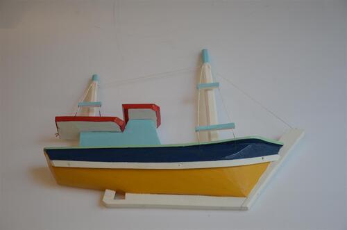barquinho artesanal