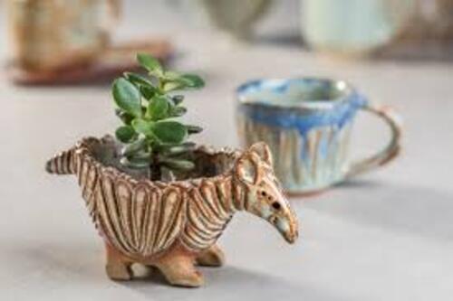 potinhos para plantas em formato de animal